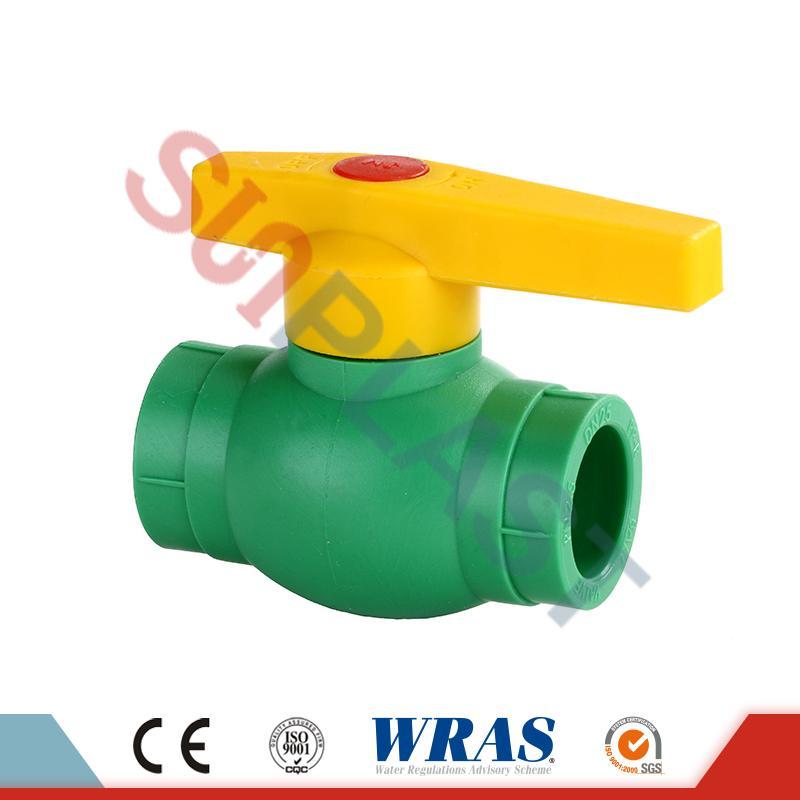 DIN8077 PPR 볼 밸브