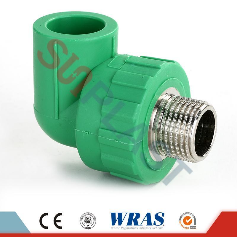 DIN8078 PPR Male Elbow