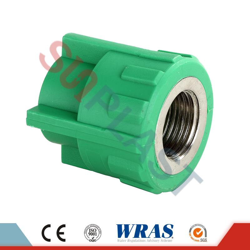 Green PPR Female Coupler